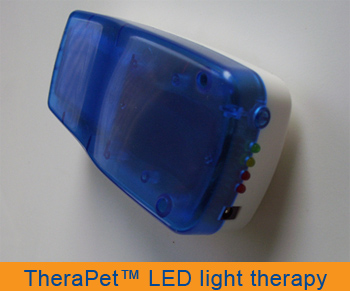 TheraPET LED light therapy for your pet